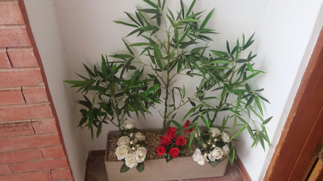 Artificial plant project for private house 01