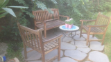 Seating areas in the garden 02